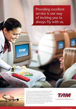 LATAM Airlines Group Advertisement